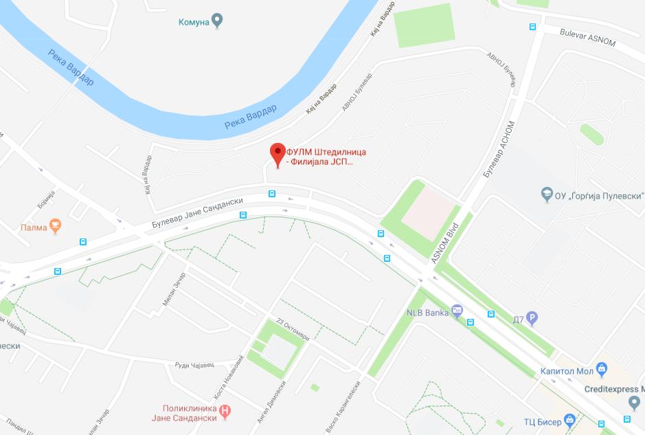JSP_Aerodrom_Mapa